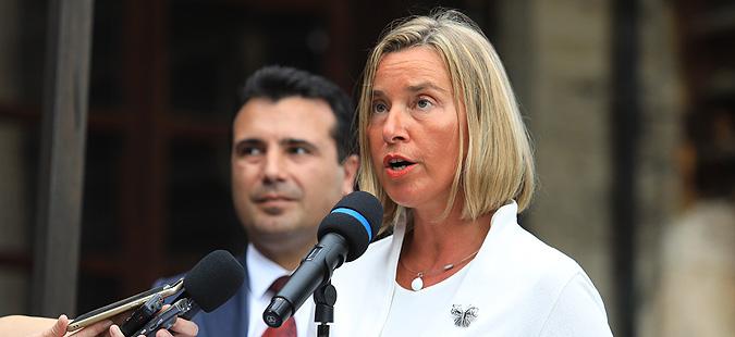 Могерини: Земјите членки на ЕУ да донесат позитивна одлука за преговори со Северна Македонија и Албанија