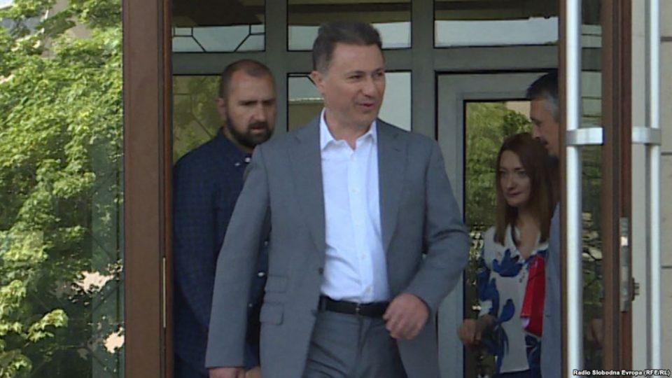 Во понеделник ќе се расправа за одземање на мандатот на Груевски