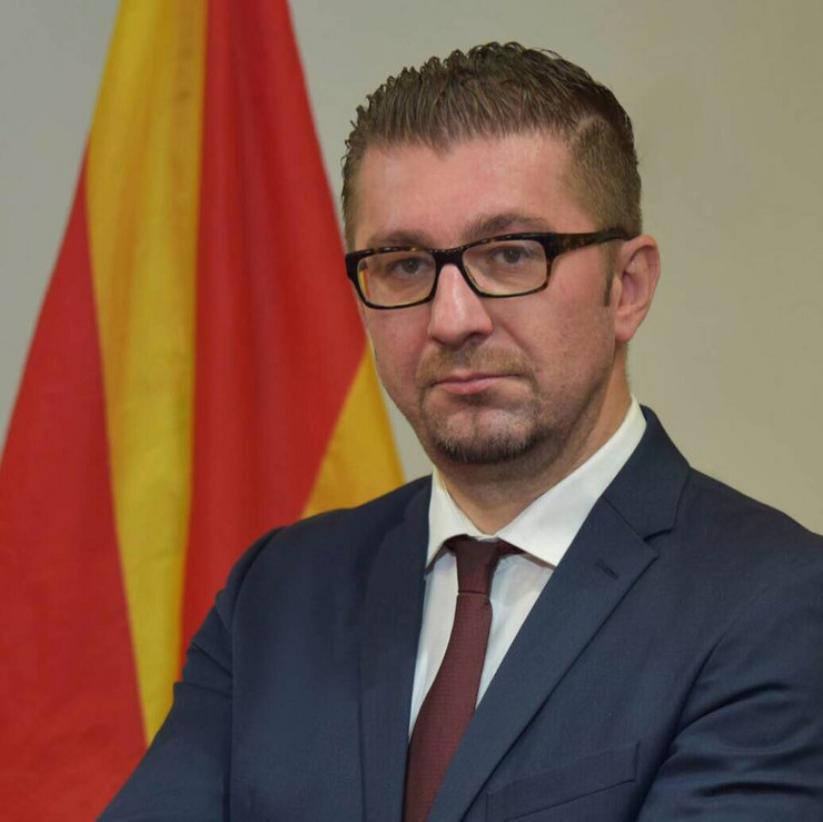 Мицкоски: ВМРО-ДПМНЕ останува противник на договорот од Преспа, како и на уставните промени кои водат до промена на идентитетот на државата