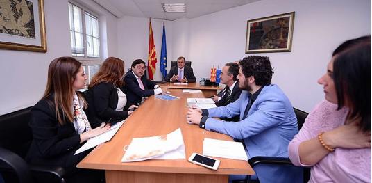 Шaпуриќ: Во иднина поддршката за користење на фондовите од ЕУ ќе биде посилна