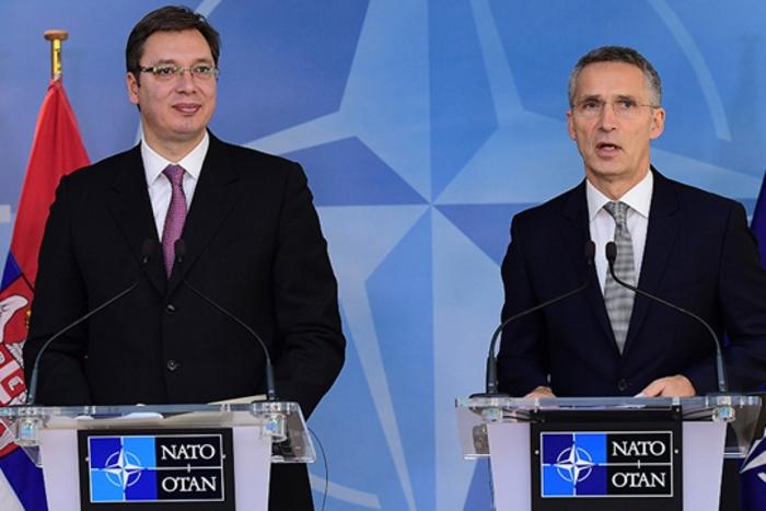 Средба Вучиќ – Столтенберг: Србија останува воено неутрална земја, но отворена за соработка со НАТО