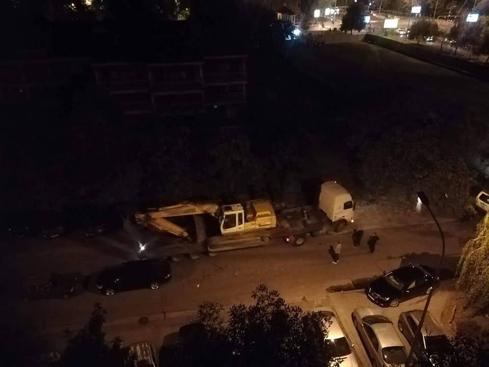 Аеродромци во шок: Ноќеска багери започнаа со копање кај Мајчин дом (ВИДЕО)