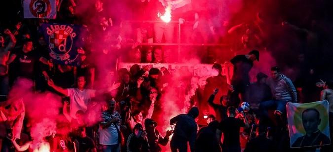 УЕФА го казни Динамо Загреб поради однесувањето на навивачите