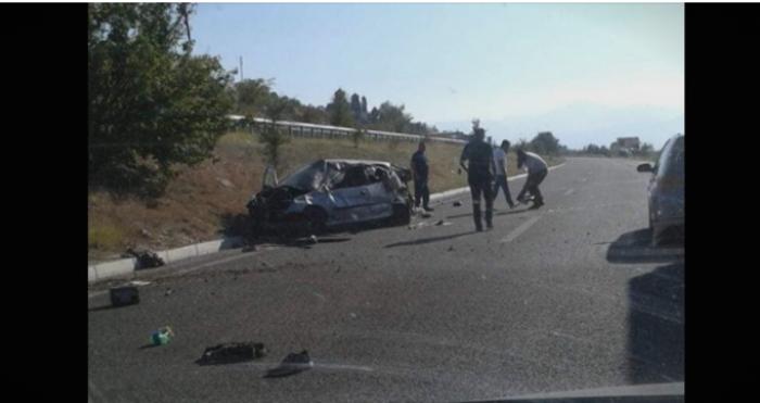Детали за сообраќајната несреќа на патот Куманово-Скопје, има повредени