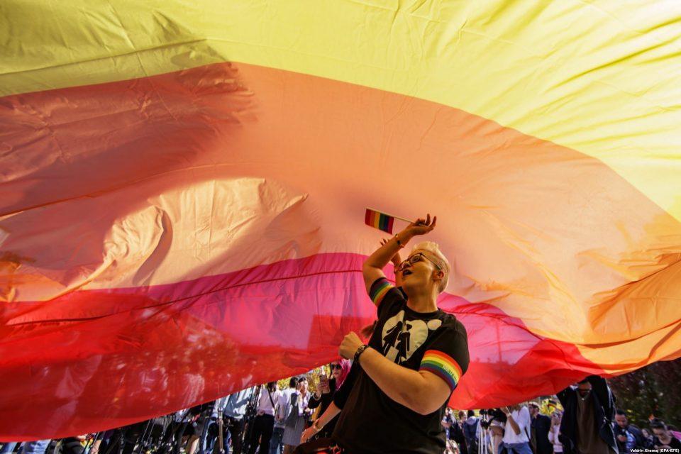 """""""Во име на слободата"""": Парада на гордоста се одржа во Приштина"""