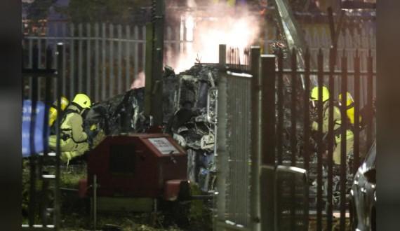 Нема преживеани во хеликоптерот што падна покрај стадионот во Лестер