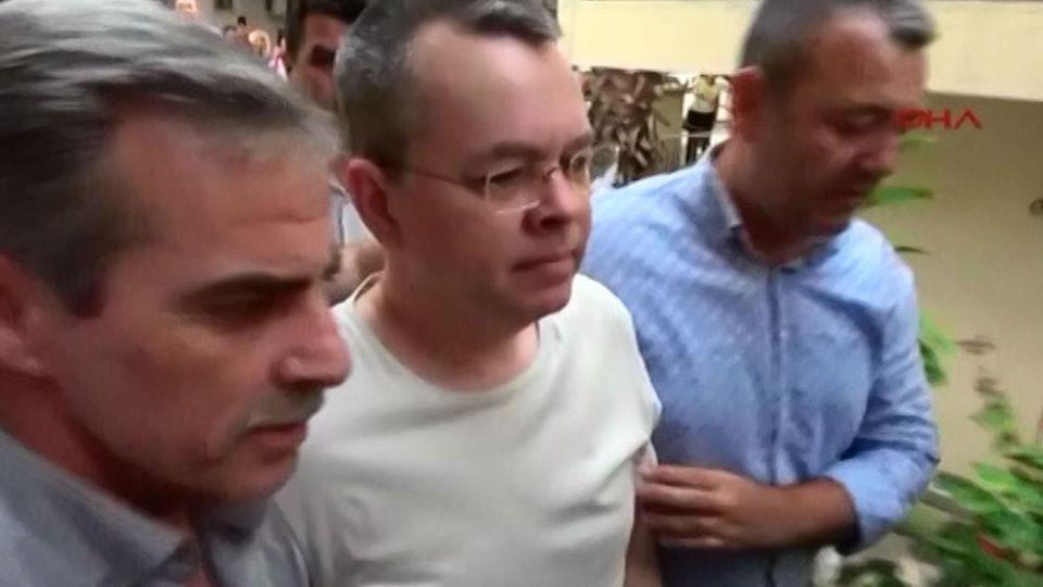 """""""Вашингтон Пост"""": Турција и САД се договорија, пасторот Брансон ќе биде ослободен"""