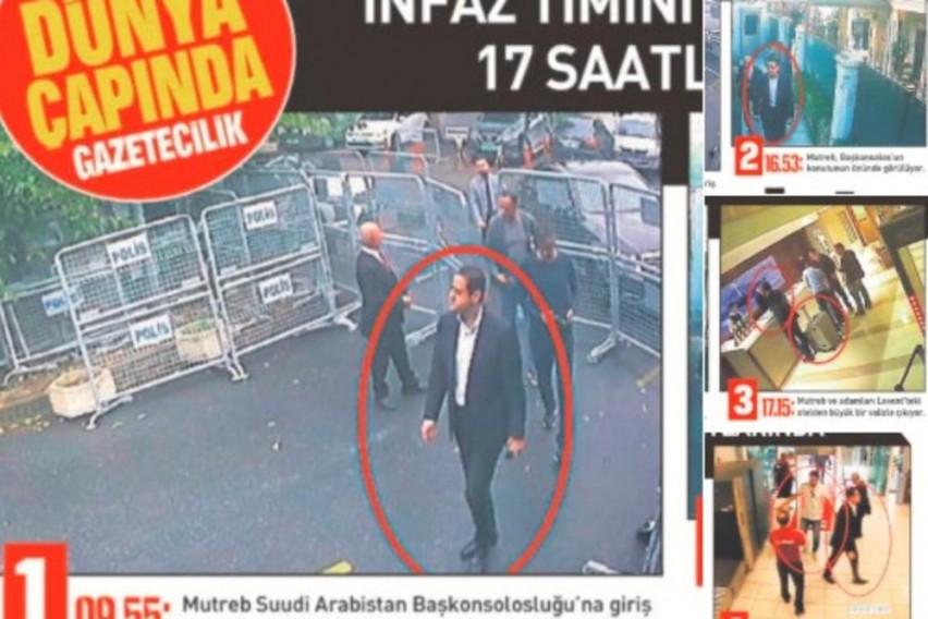 """Турски """"Сабах"""": Саудиски разузнавач влегол во конзулатот во Истанбул пред доаѓањето на новинарот Кашоги (ФОТО)"""