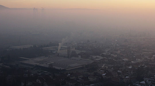 Загаденоста повторно урива рекорди: Утрово и до шест пати над дозволеното
