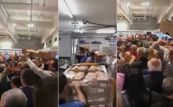 """Втор ден во Србија има """"тепачка"""" за пилешко"""
