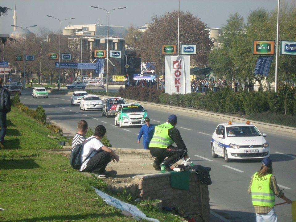 Посебен сообраќаен режим за викенд во Скопје поради автомобилски трки