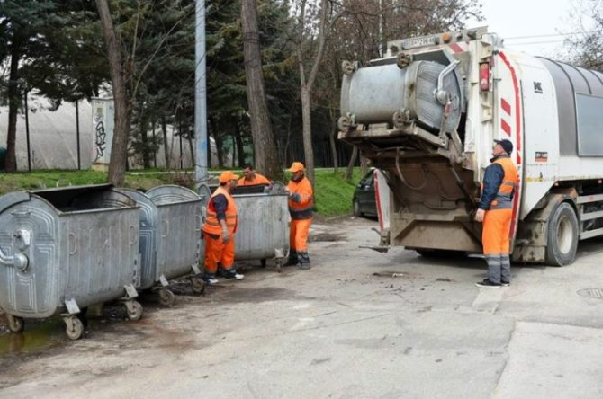 """Украден камион за собирање ѓубре на скопска """"Комунална хигиена"""""""