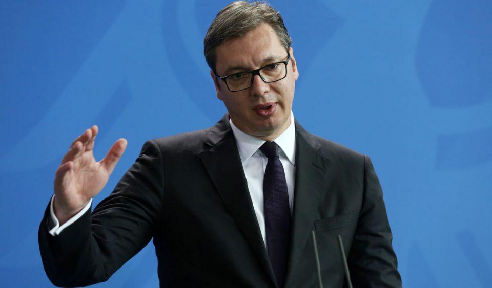 Вучиќ: Германија очекува воздржаност од Србија за Косово