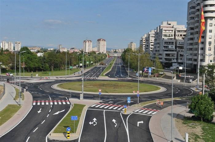 """Времен сообраќаен режим на Бул:""""Партизански Одреди"""" кај Влае за време на викендов"""