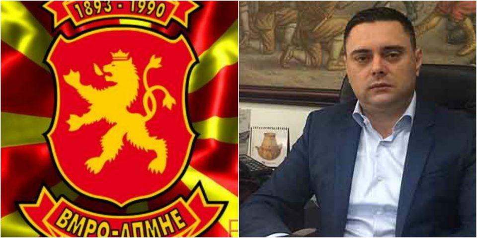 ВМРО-ДПМНЕ Кавадарци со осуда до Митко Јанчев: Ако сакаш транспарентност, зошто се криеш по хотели со Заев?