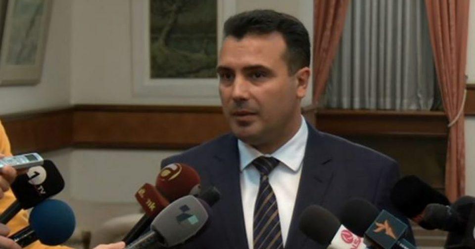 Заев: Царовска нема да поднесе оставка поради споровите на ДУИ