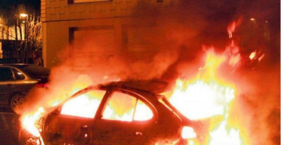 """Запален автомобилот на сопственикот на """"Прагма продукција"""", организатор на концертот на Чолиќ"""