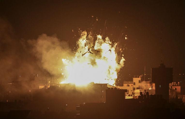 (Видео) Хамас утрово го изврши најголемиот ракетен напад врз Израел од 2014 година