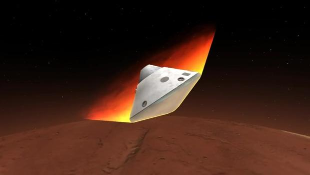 """Сондата """"Инсајд"""" успешно слета на Марс"""