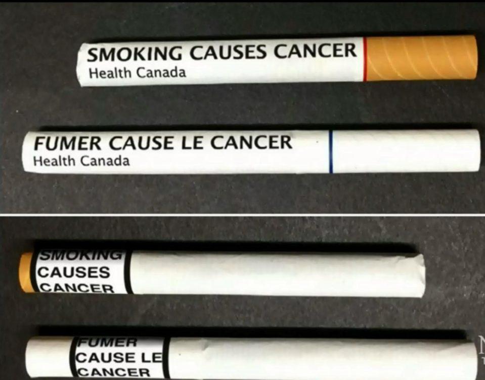 Во Канада на секоја поединечна цигара ќе се печатат здравствени предупредувања