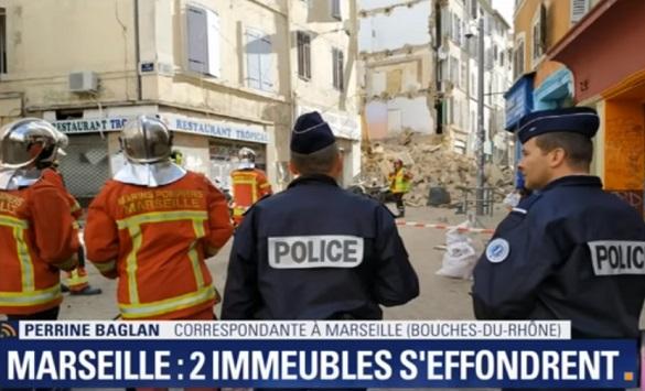 Пронајдено е тело под рушевините на зградите во Марсеј