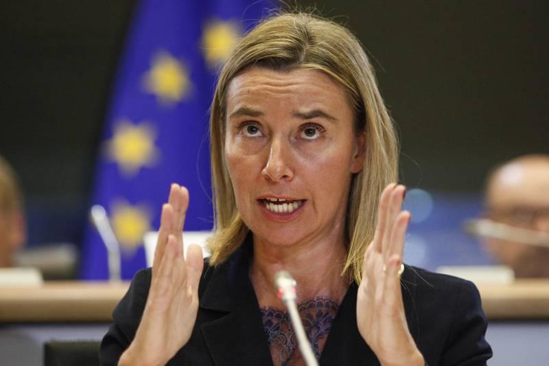 Могерини побара од европските лидери да ја донесат вистинската одлука за преговори со Скопје и Тирана