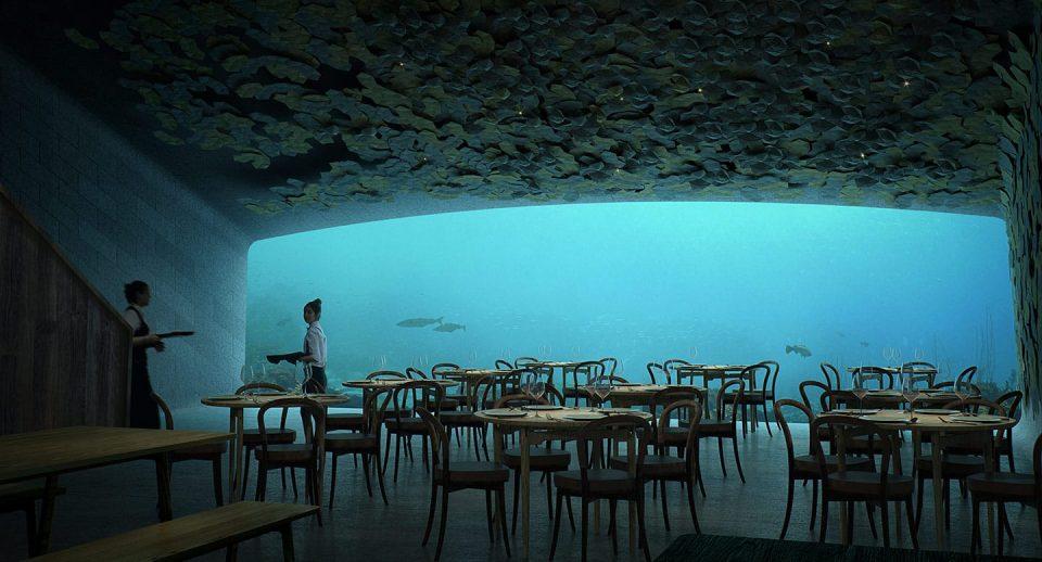 (ВИДЕО) Ќе останете без зборови: Норвешка ќе отвори хотел-ресторан под вода