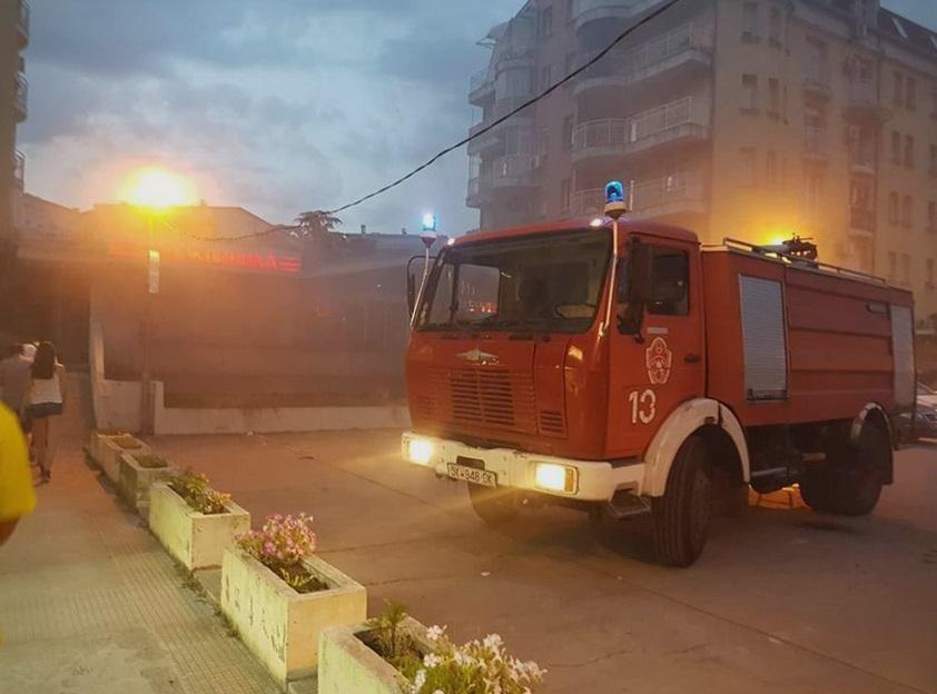 Зголемен бројот на интервенции на скопските пожарникари лани во однос на 2018 година