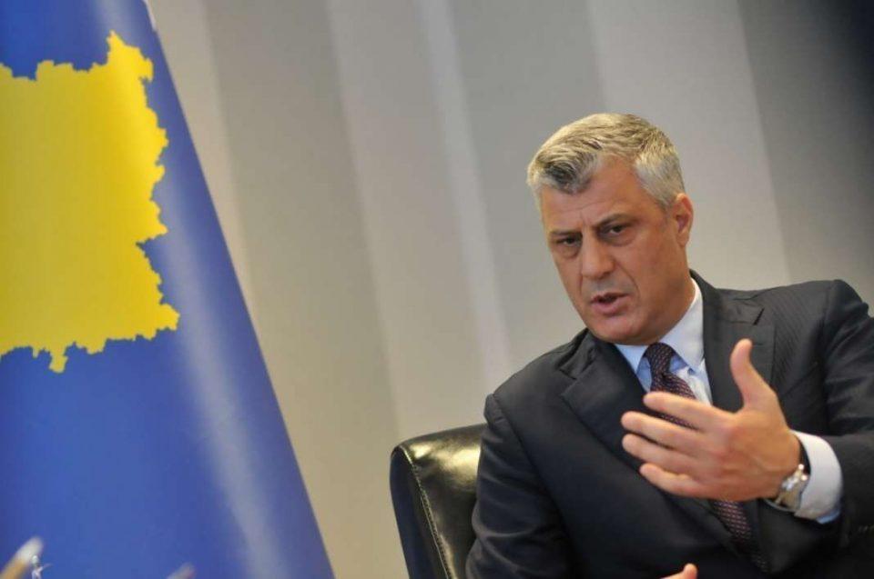 Тачи: Неопходен е договор меѓу Белград и Приштина