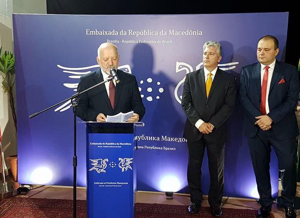Државниот секретар на МНР во посета на Бразил