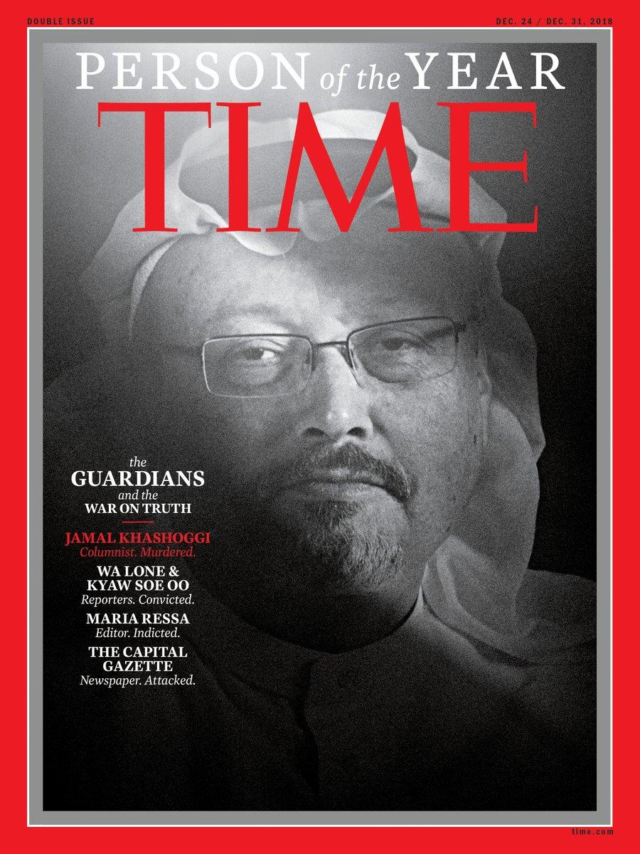 """""""Тајм"""" го прогласи Кашоги за личност на годината"""
