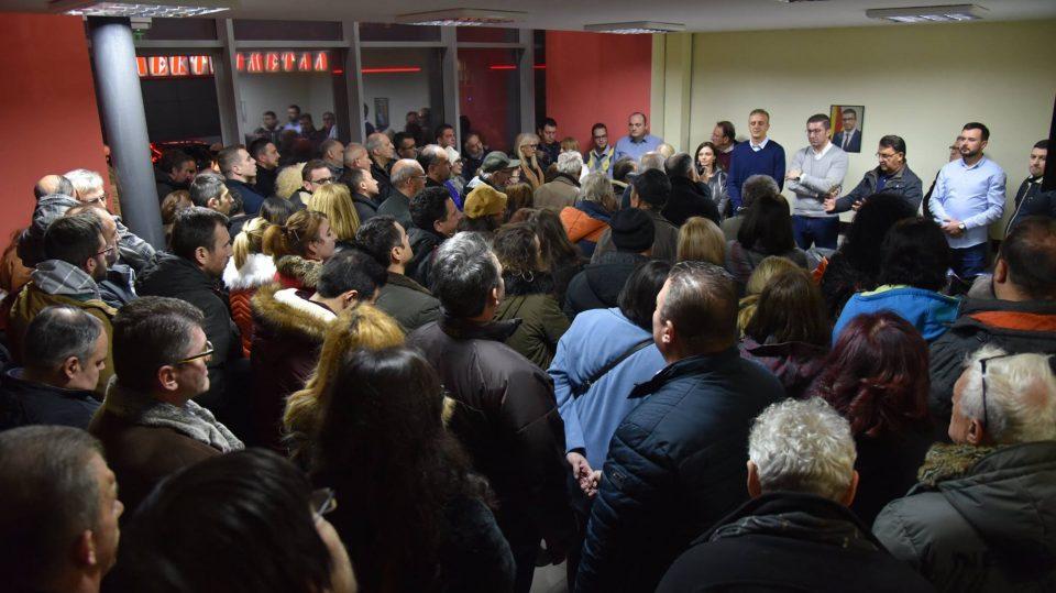 Мицкоски: Нашата борба е за секој еден граѓанин, против секое црнило и за сигурна и развиена Македонија