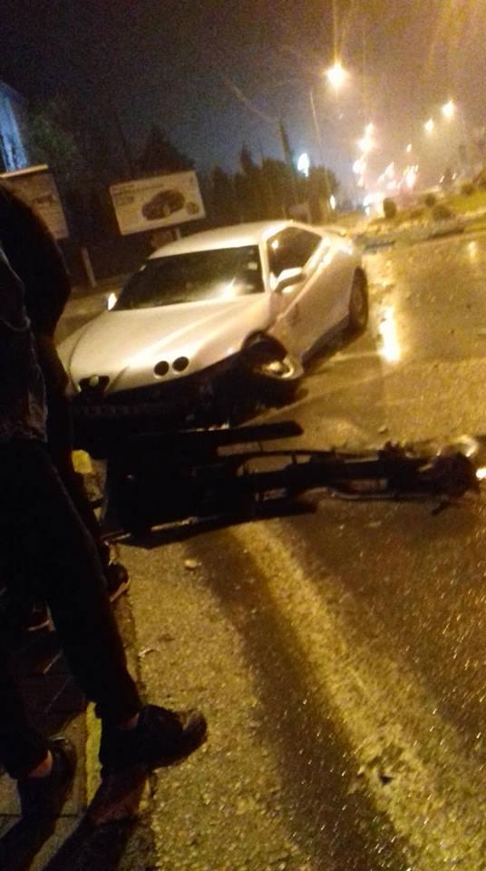 Две лица се тешко повредени во сообраќајна несреќа во Скопје
