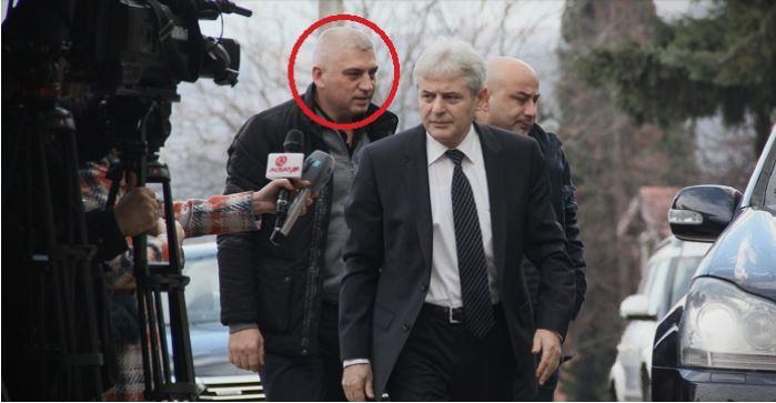 Алфите го приведоа шоферот на Ахмети