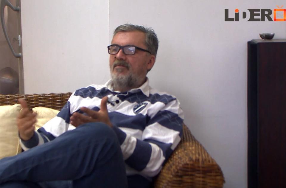 """(ВИДЕО) Палевски под полициска опсада: Интервју на """"Лидер"""" за политичката состојба во земјава"""
