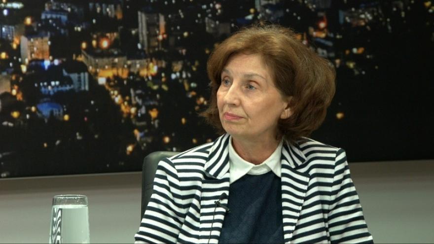 (ВИДЕО) Силјановска: Се плашам дека СДСМ и ДУИ ќе го сменат начинот за избор на претседател