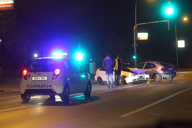 Седуммина повредени во сообраќајки во Скопје