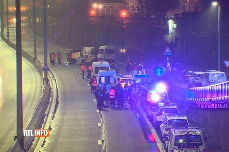 """Со камион прегазен демонстрант од """"Жолтите елеци"""" во Белгија (ВИДЕО)"""