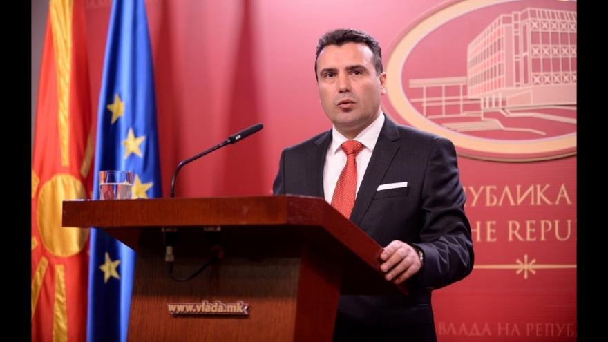 Зоран Заев: Да живее Република Северна Македонија!