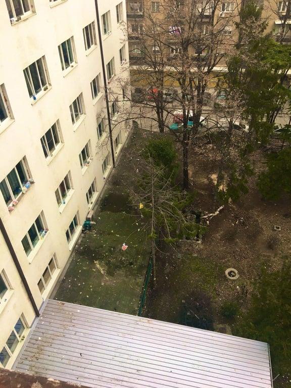 """(ФОТО) Студентите од """"Пелагонија"""" сами ја исчистија депонијата"""