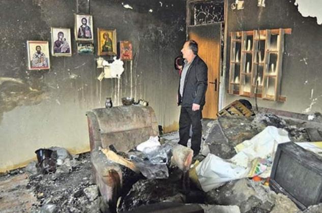 (ФОТО) Чудо: Им изгоре цел стан, а иконите останаа недопрени