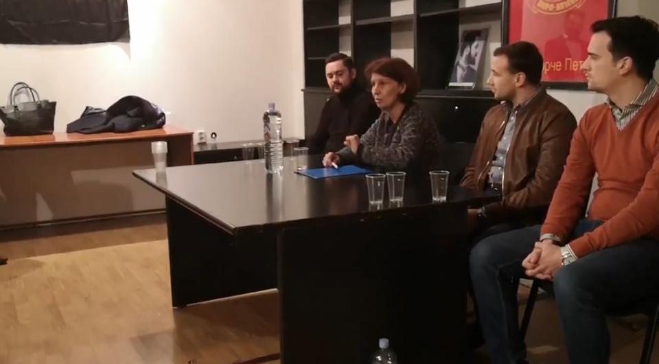 (ВИДЕО) Еве која била улогата на Силјановска во Професорскиот пленум