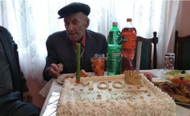 Жител на кочанско Бурилчево го прослави стотиот роденден