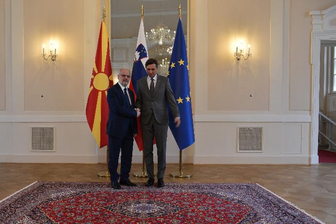 Пахор: Словенија ќе направи сè што е можно да ја поддржи Македонија во својот евро-атлантски пат