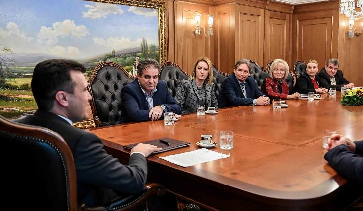 Заев се сретна со членовите на ДИК поради претстојните претседателски избори