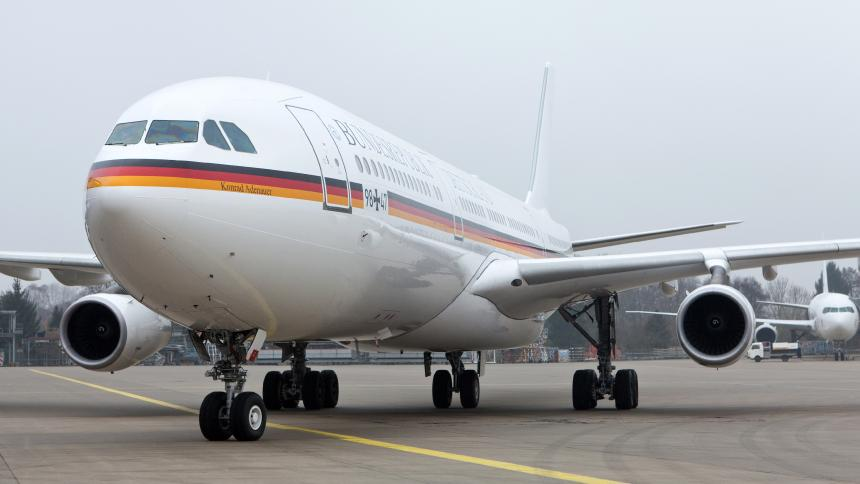Повторно дефект на владиниот германски авион