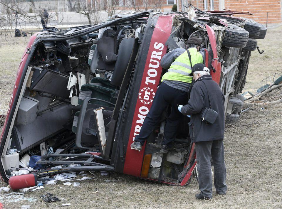 Еве каква е состојбата на повредените во сообраќајката кај Ласкарци