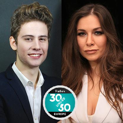 """Брат и сестра од Македонија на листата """"30 под 30"""" на Форбс"""