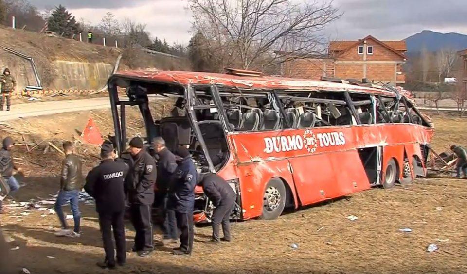 """Возачот на автобусот """"Дурмо турс"""" на распит во ОЈО"""