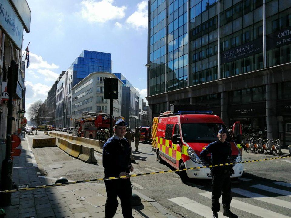 Евакуација во Брисел поради закана од бомба